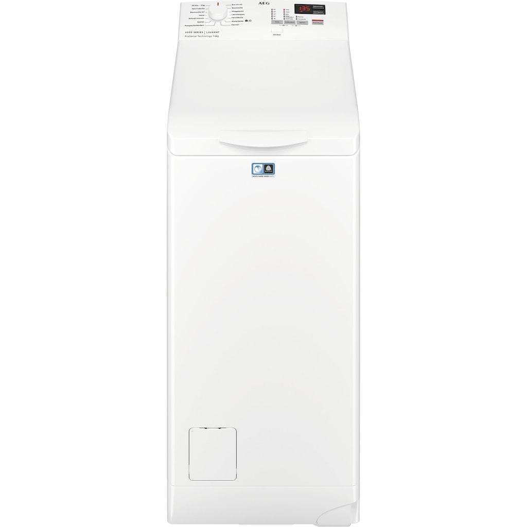 AEG Waschmaschine Toplader »L6TB40260«, 6000, L6TB40260, 6 kg, 1200 U/min, Nachlegefunktion
