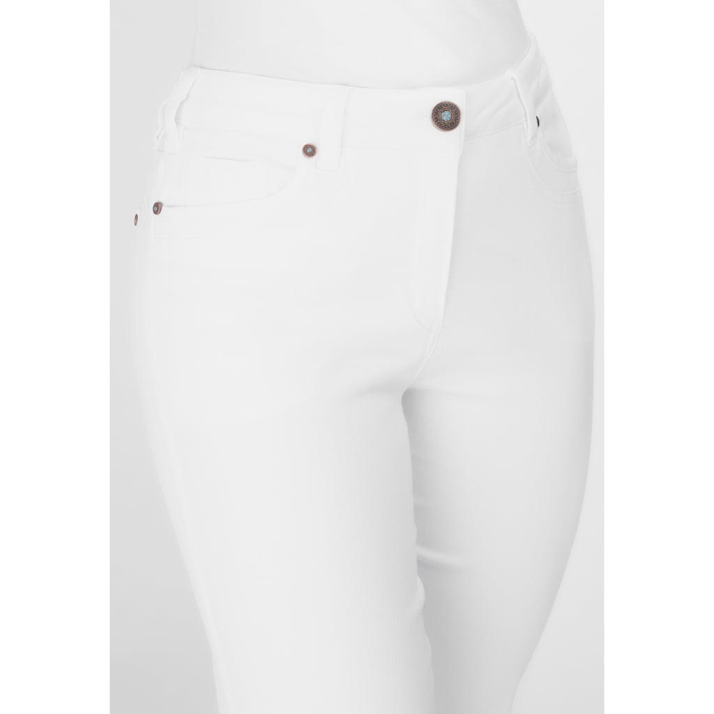 Recover Pants Jeans mit Stickerei