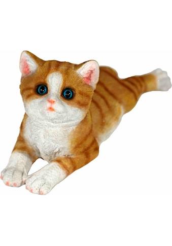 Home affaire Tierfigur »Katze braun, liegend, L 34 cm« kaufen