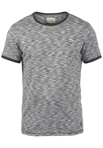 Blend Rundhalsshirt »Lex«, Kurzarmshirt mit farblich abgesetztem Kragen kaufen