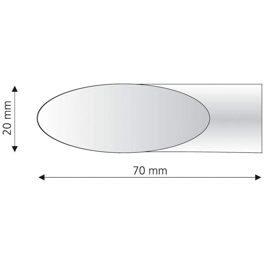 Liedeco Gardinenstangen-Endstück »Cut«, für Gardinenstangen Ø 16 mm