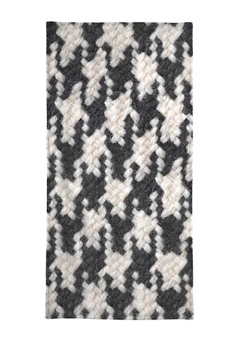 Juniqe Strandtuch »Houndstooth Pattern«, (1 St.), Weiche Frottee-Veloursqualität kaufen