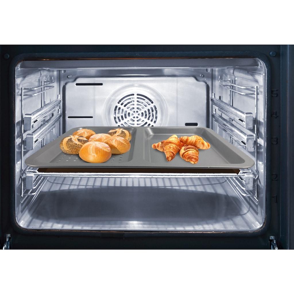 TELESHOP Backblech »Airfry Pro«, Stahl-Carbonstahl, (1 St.), mit Titanbeschichtung