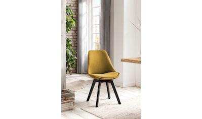 SalesFever Esszimmerstuhl, mit Wabensteppung auf der Rückseite, im 2er-Set kaufen