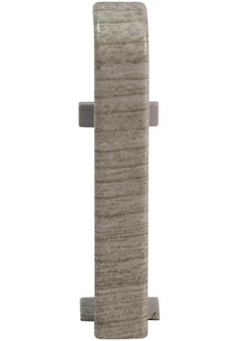 EGGER Zwischenstücke »Eiche mittelgrau«, für 6 cm EGGER Sockelleiste kaufen