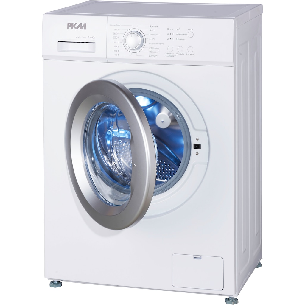 PKM Waschmaschine »WA6-1008E«, WA6-1008E, 6 kg, 1000 U/min