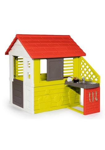 Smoby Spielhaus »Natur mit Sommerküche«, Made in Europe kaufen