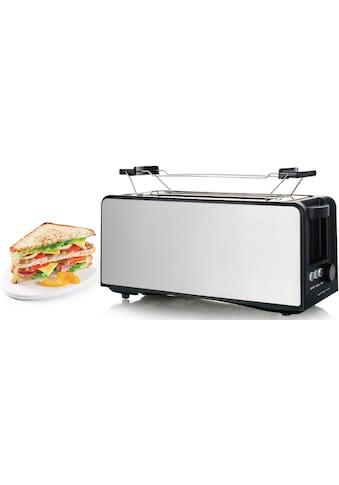 Emerio Toaster »TO-124806«, 2 lange Schlitze, für 2 Scheiben, 1400 W kaufen