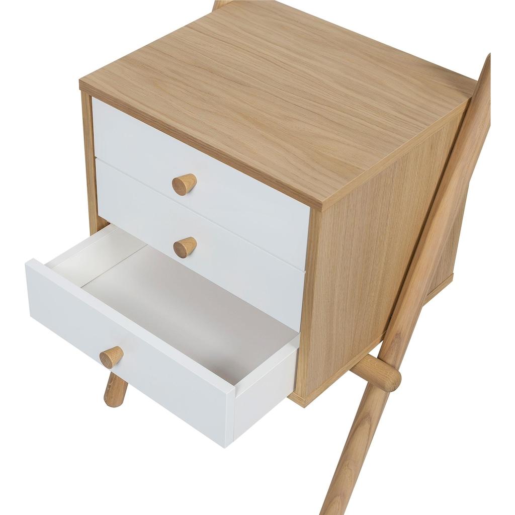Woodman Nachttisch »Wiru«, in 2 verschiedenen Farben