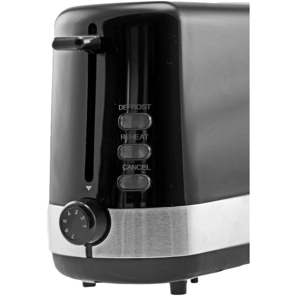 exquisit Toaster »TA 6501 swi«, 1 langer Schlitz, 850 W