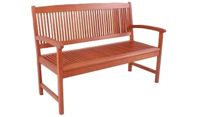 Garden Pleasure Gartenbank »STOCKHOLM«, (Packung), 2-Sitzer kaufen
