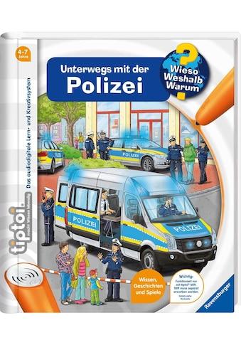 Ravensburger Buch »tiptoi® WWW - Unterwegs mit der Polizei«, Made in Europe kaufen