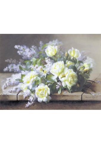 DELAVITA Kunstdruck »RAOL DE LONGPRE / A still life with roses«, (1 St.) kaufen