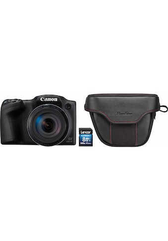 Canon Bridge-Kamera »PowerShot SX432 IS«, inkl. Canon-Tasche & 8 GB Speicherkarte kaufen