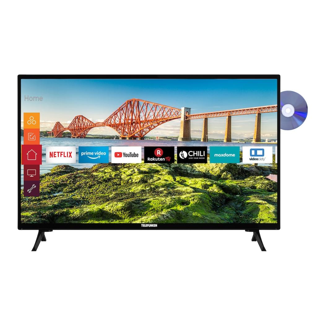 "Telefunken LED-Fernseher »XH24J501VD«, 60 cm/24 "", HD-ready, Smart-TV"