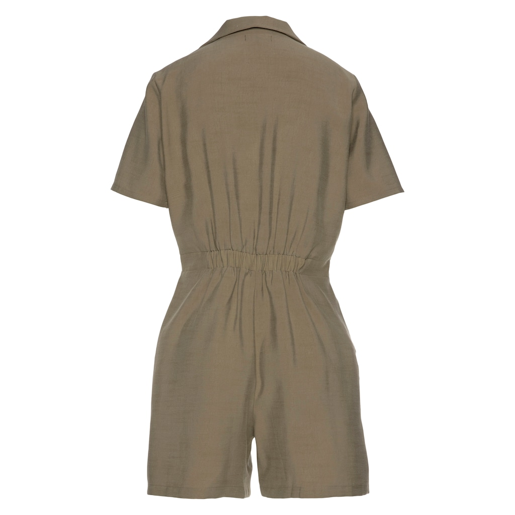 Superdry Kurzoverall »WIDE LEG PLAYSUIT/W8010«