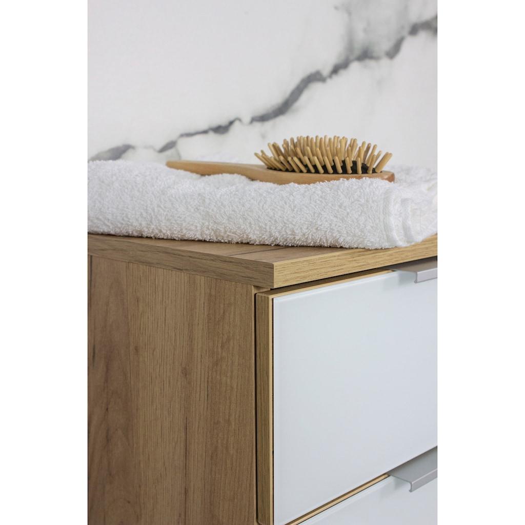 GERMANIA Unterschrank »Avino«, Breite 39 cm, Glasfronten, Soft-Close-Funktion