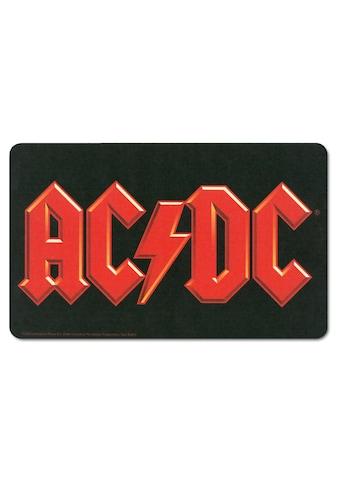 LOGOSHIRT Frühstücksbrettchen mit AC/DC-Logo kaufen