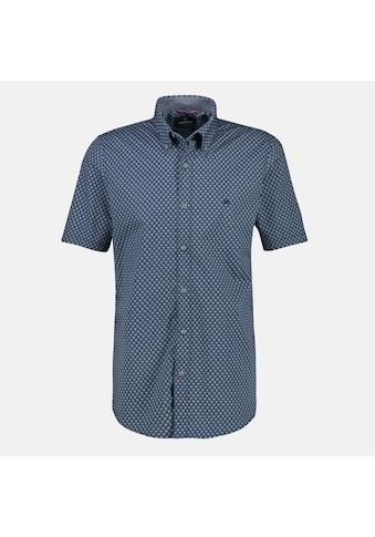 LERROS Kurzarmhemd, in Großen Größen, mit Alloverprint kaufen