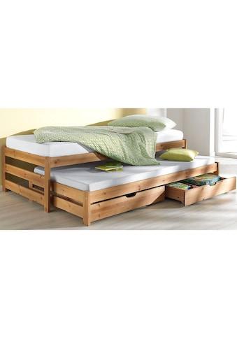 Home affaire Funktionsbett »Torgny«, mit 2. Schlafgelegenheit kaufen