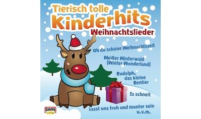 Musik-CD »Tierisch Tolle Kinderhits-Weihnachtslieder / KINDERLIEDERBANDE« kaufen