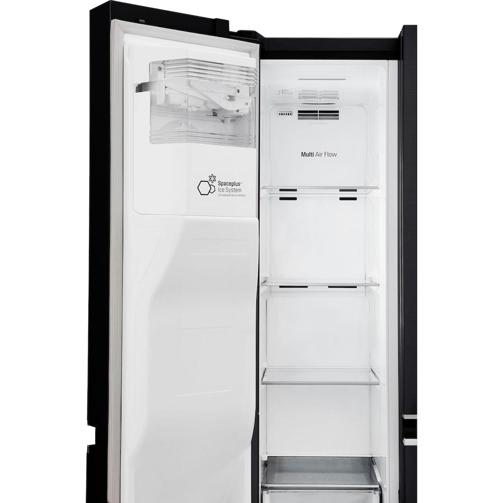 LG Side-by-Side »GSL761MCZZ«, GSL761MCZZ, 179 cm hoch, 91,2 cm breit