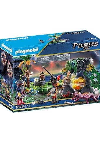 Playmobil® Konstruktions-Spielset »Piraten-Schatzversteck (70414), Pirates«, ; Made in... kaufen