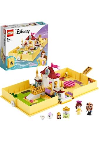 LEGO® Konstruktionsspielsteine »Belles Märchenbuch (43177), LEGO® Disney Princess™«,... kaufen