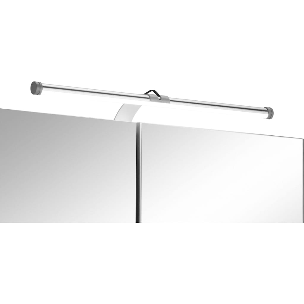 HELD MÖBEL Badmöbel-Set »Ribera«, (2 St.), Spiegelschrank Breite 60 cm, Waschtisch