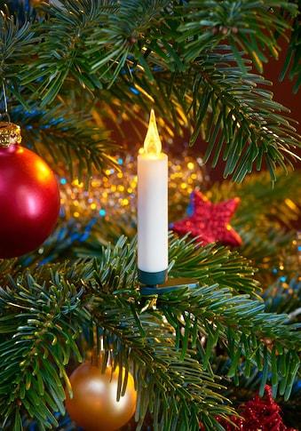 BONETTI LED-Christbaumkerzen, kabellos, 20 Kerzen mit Acrylflamme, neue Technologie,... kaufen