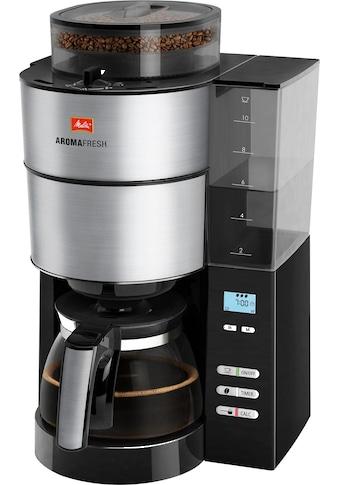 Melitta Kaffeemaschine mit Mahlwerk »AromaFresh 1021-01«, Papierfilter, 1x4 kaufen