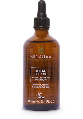 MICARAA NATURAL COSMETICS Körperpflegemittel »Bio Schwangerschaftsöl Anti Cellulite«,... kaufen