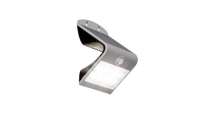 Brilliant Leuchten Zeb LED Außenwandleuchte 14cm Bewegungsmelder silber kaufen