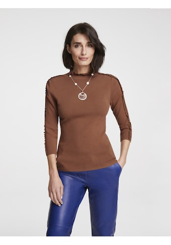 Pullover mit Rüschen kaufen