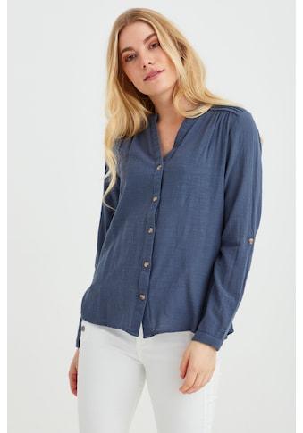 fransa Langarmbluse »Fransa Damen Bluse mit 3/4 Arm«, Blusenshirt kaufen