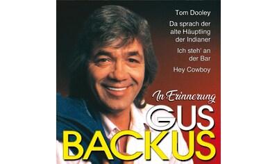 Musik-CD »In Erinnerung / Backus,Gus« kaufen