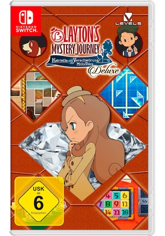 Nintendo Switch Spiel »Layton's Mystery Journey: Katrielle und die Verschwörung der Millionäre Deluxe«, Nintendo Switch kaufen