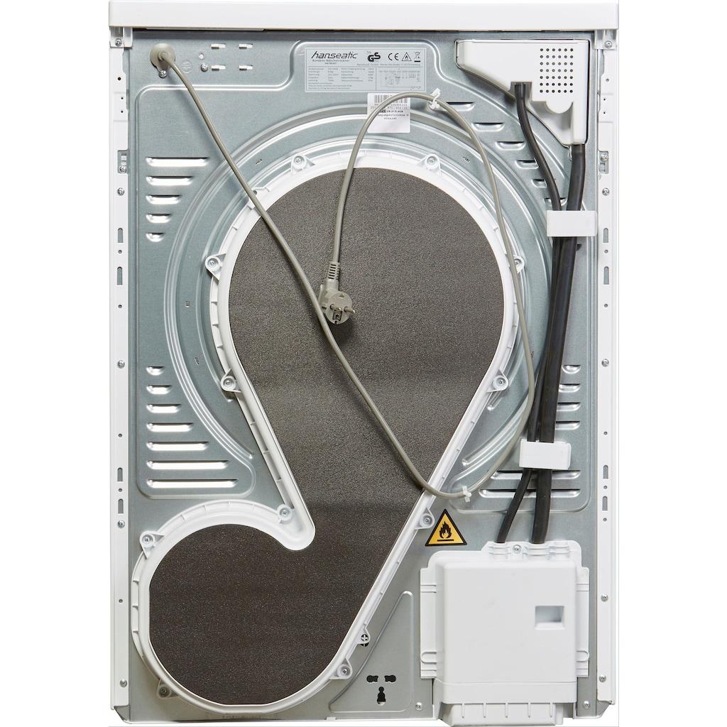 Hanseatic Wärmepumpentrockner »HWT8A3GT«, 8 kg