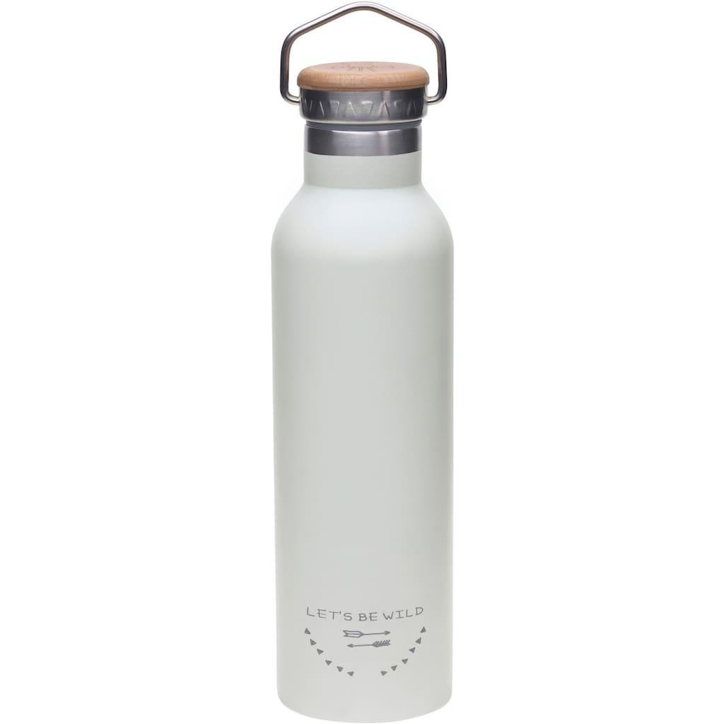 LÄSSIG Trinkflasche »Adventure, grey«, isoliert