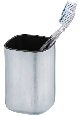 WENKO Zahnputzbecher »Alassio«, Zahnbürstenhalter aus Edelstahl kaufen