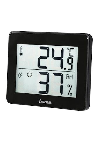 "Hama Thermo-/Hygrometer ""TH-130"", Schwarz kaufen"