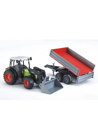 Bruder® Spielzeug-Traktor »Claas Nectis 267 F mit Frontlader und Bordwandanhänger«,... kaufen