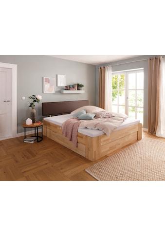 Home affaire Stauraumbett »Venezia«, aus Massivholz kaufen