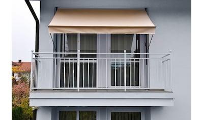 ANGERER FREIZEITMÖBEL Klemmmarkise beige, Ausfall: 150 cm, versch. Breiten kaufen