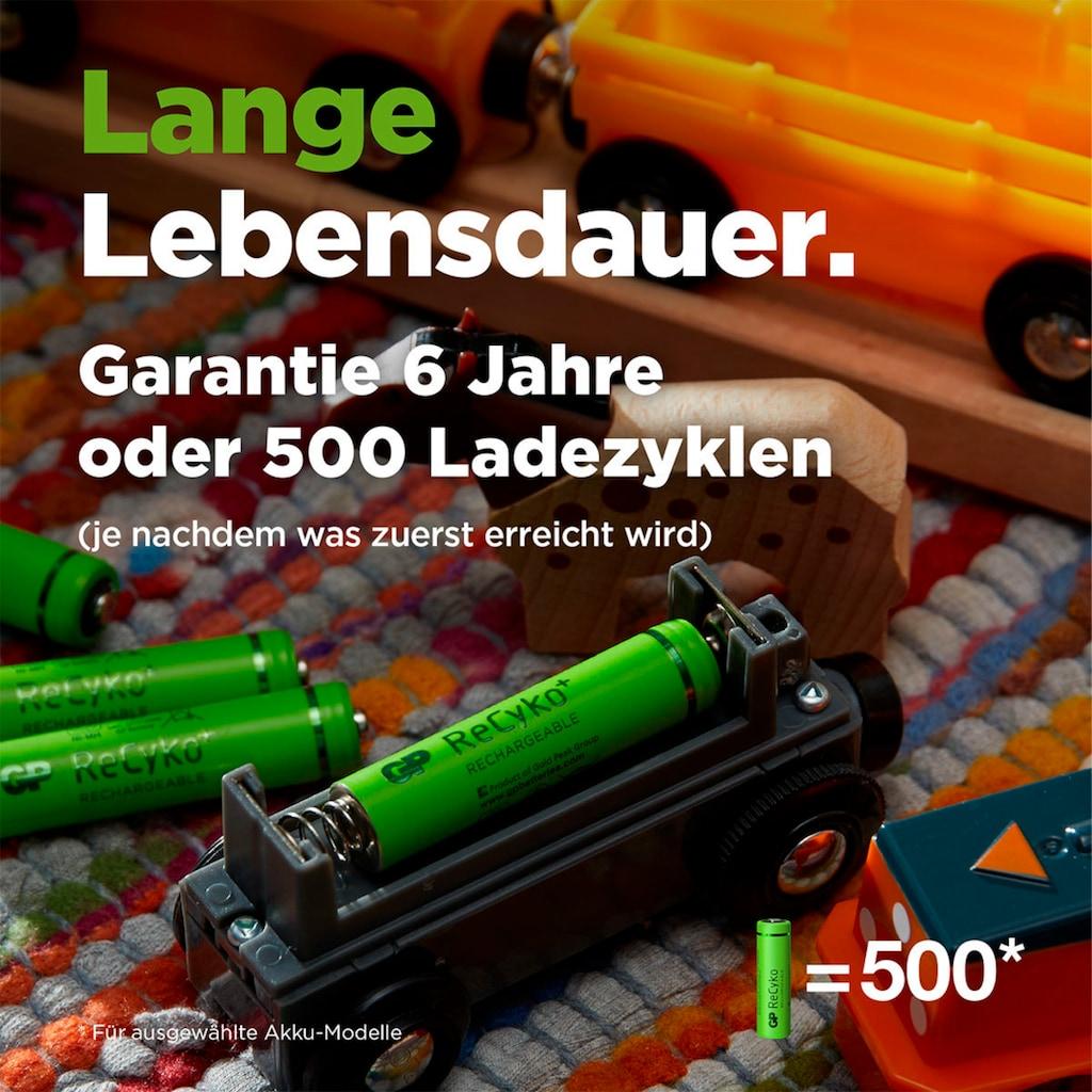 GP Batteries Akku »AAA Akku NiMH 850 mAh ReCyko 1,2V 8 Stück«, Micro, 850 mAh