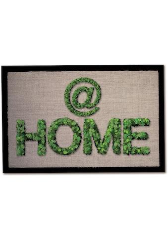 Andiamo Fußmatte »Home«, rechteckig, 5 mm Höhe, Fussabstreifer, Fussabtreter, Schmutzfangläufer, Schmutzfangmatte, Schmutzfangteppich, Schmutzmatte, Türmatte, Türvorleger, In- und Outdoor geeignet kaufen
