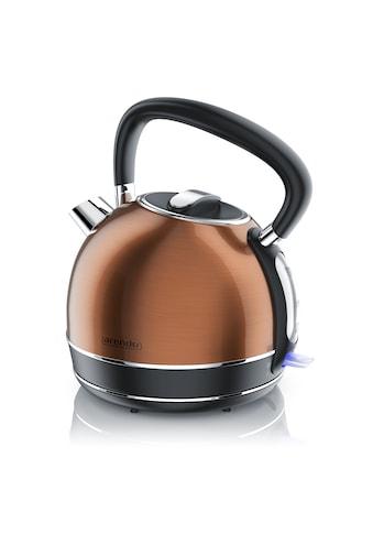 Arendo Vintage Retro Style Edelstahl-Wasserkocher im Kupfer Design kaufen