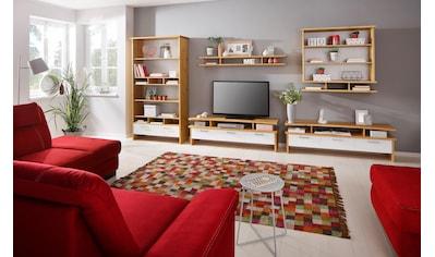 Home affaire Wohnwand »Ixo«, (Set, 5 St.), aus massiver Kiefer kaufen