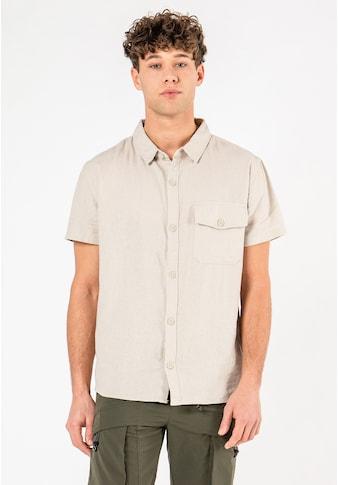 Urban Surface Kurzarmhemd, aus Leinen kaufen