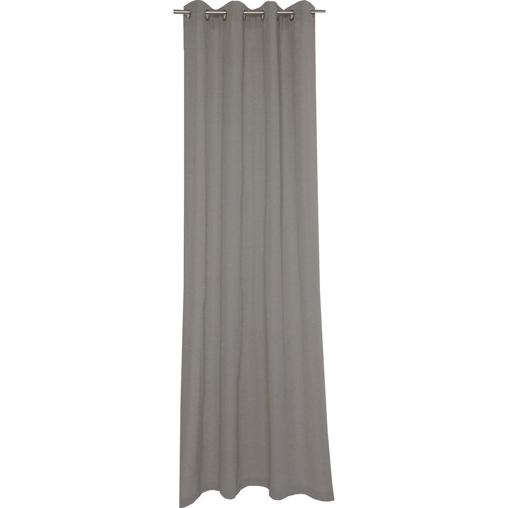 SCHÖNER WOHNEN-Kollektion Vorhang »Mono«, blickdicht, monochrom, gewebt, matt